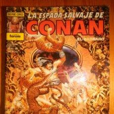 Cómics: COMIC - LA ESPADA SALVAJE DE CONAN EL BÁRBARO - FORUM - Nº 49 - LOS HOMBRES DE BARRO DE KESHAN. Lote 164987514