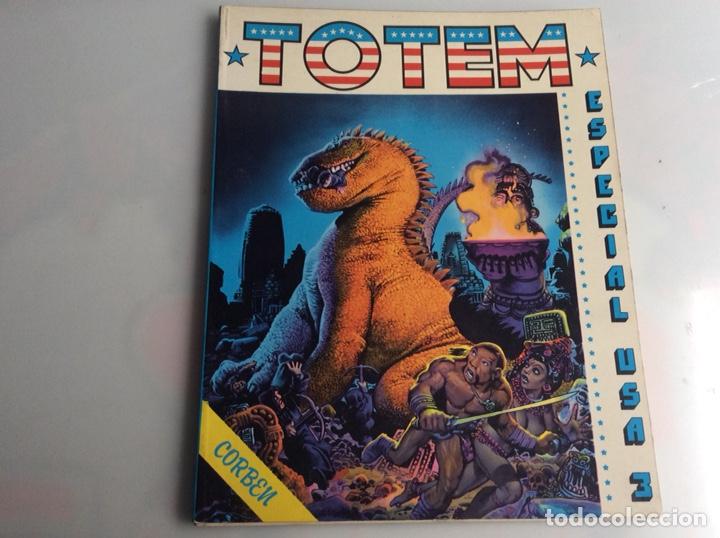 TOTEM EXTRA Nº 8 ESPECIAL USA RICHARD CORBEN, WRIGHTSON....... (Tebeos y Comics - Toutain - Otros)