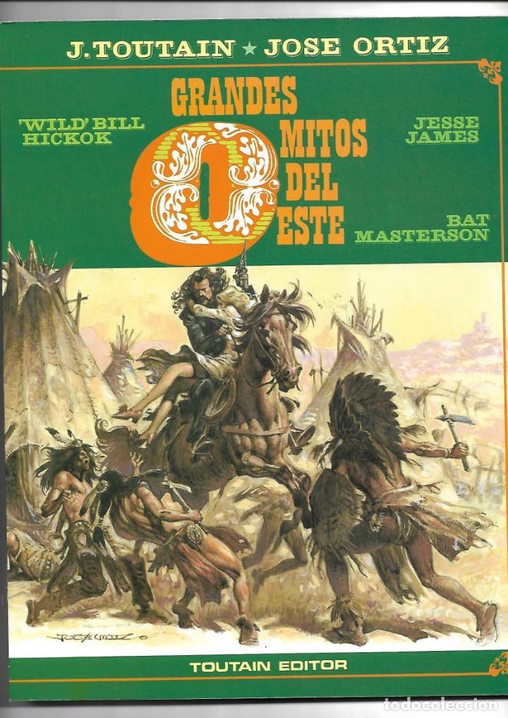 GRANDES MITOS DEL OESTE COLECCIÓN COMPLETA SON 2 TEBEOS DIBUJOS JOSÉ ORTIZ TOUTAIN EDITOR 80 PÁGINAS (Tebeos y Comics - Toutain - Otros)