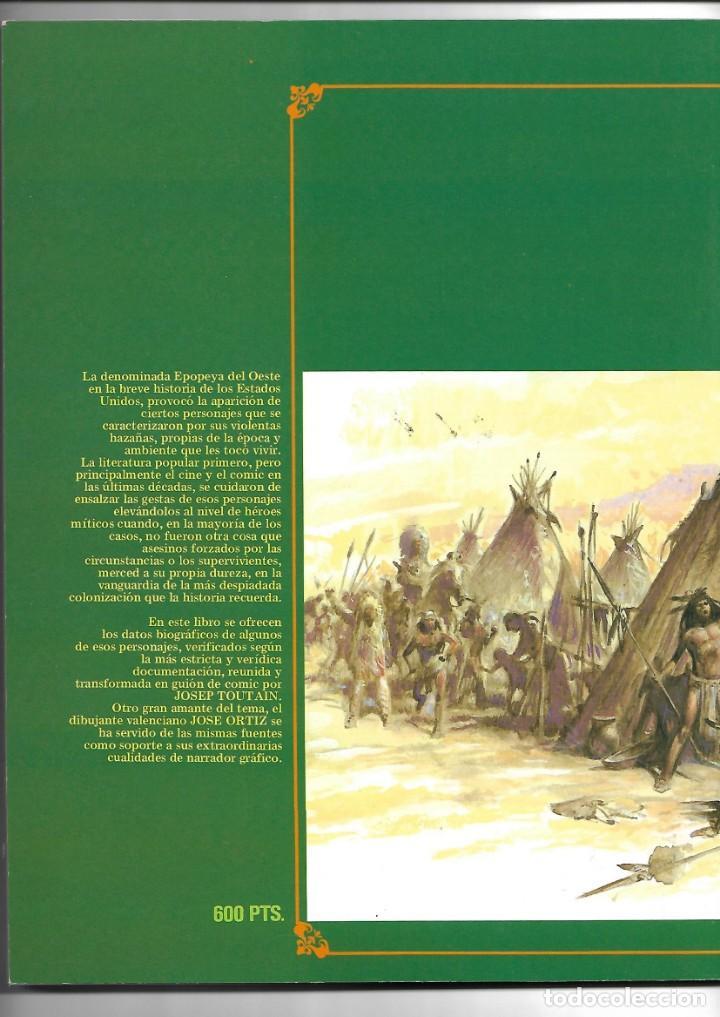Cómics: Grandes Mitos del Oeste Colección Completa son 2 Tebeos Dibujos José Ortiz Toutain Editor 80 páginas - Foto 2 - 165806690
