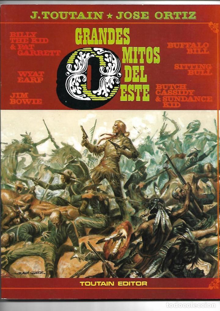 Cómics: Grandes Mitos del Oeste Colección Completa son 2 Tebeos Dibujos José Ortiz Toutain Editor 80 páginas - Foto 3 - 165806690
