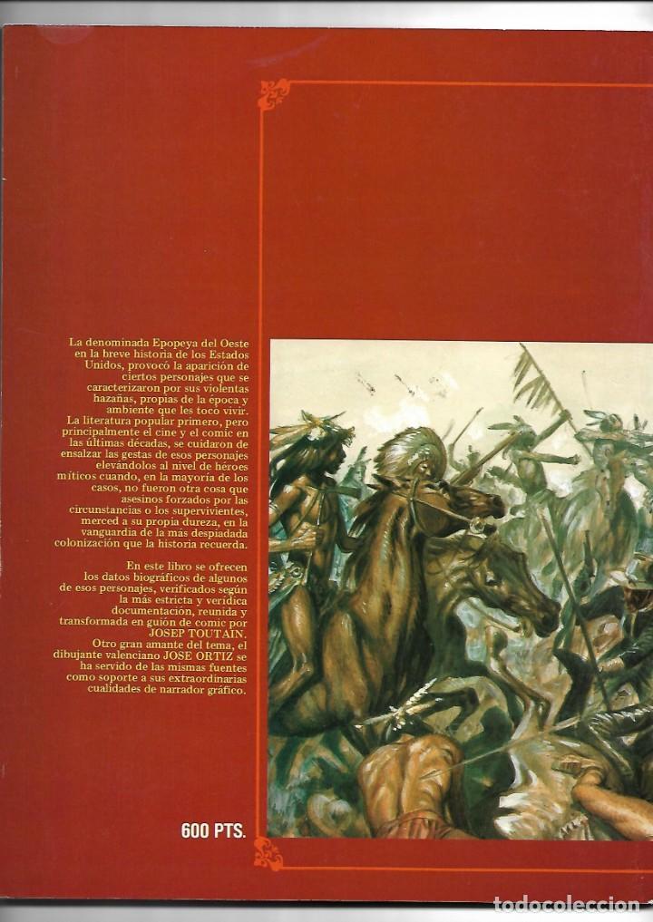 Cómics: Grandes Mitos del Oeste Colección Completa son 2 Tebeos Dibujos José Ortiz Toutain Editor 80 páginas - Foto 4 - 165806690