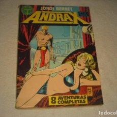 Cómics: ANDRAX NUMEROS DEL 7 AL 12 , JORDI BERNET. Lote 165883374