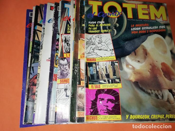 TOTEM EL COMIX. LOTE Nº 1 AL Nº 13. TOUTAIN EDITOR.NO VENDO SUELTOS (Tebeos y Comics - Toutain - Otros)