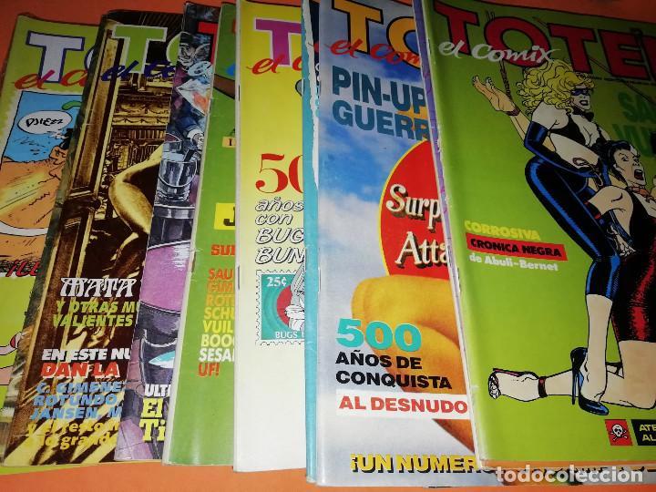TOTEM EL COMIX . LOTE NUMEROS DEL 39 AL 53. TOUTAIN EDITOR NO VENDO SUELTOS (Tebeos y Comics - Toutain - Otros)