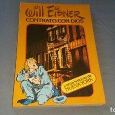 Cómics: WILL EISNER CONTRATO CON DIOS TOUTAIN PRIMERA EDICIÓN 1979. Lote 166419710