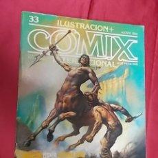 Comics: ILUSTRACION + COMIX INTERNACIONAL. Nº 33. TOUTAIN. . Lote 166577970
