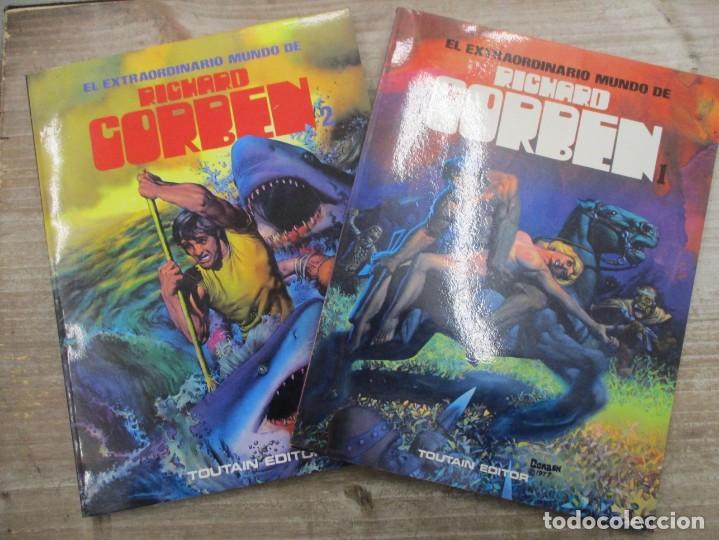 EL EXTRAORDINARIO MUNDO DE RICHARD CORBEN - COLECCION COMPLETA 2 TOMOS - TOUTAIN (Tebeos y Comics - Toutain - Álbumes)