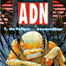 Cómics: ADN. F. DE FELIPE - OSCARAIBAR. TOUTAIN EDITOR, 1990. Lote 186661620