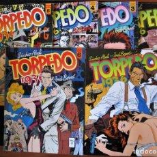 Cómics: TORPEDO 1936 - TOMOS 2, 3, 4, 5, 6 Y 7 - SÁNCHEZ ABULI, JORDI BENET - TOUTAIN. Lote 167526748