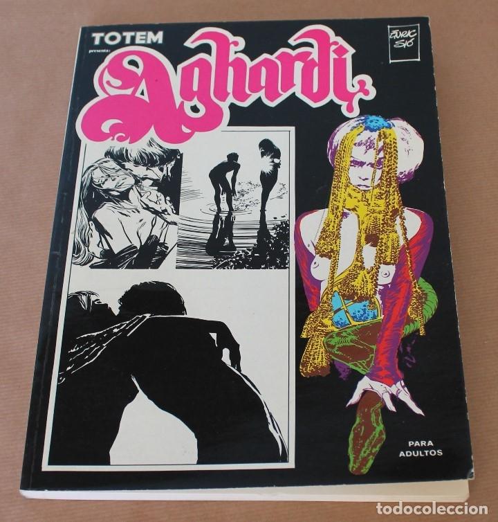 TOTEM BIBLIOTECA Nº 2 - AGHARDI - ENRIC SIO - ED NUEVA FRONTERA AÑO 1979- MUY BUEN ESTADO (Tebeos y Comics - Toutain - Otros)