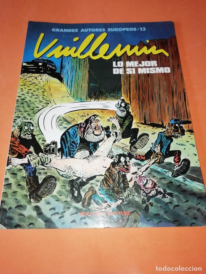 VUILLEMIN. LO MEJOR DE SI MISMO. GRANDES AUTORES EUROPEOS . Nº 13. (Tebeos y Comics - Toutain - Álbumes)
