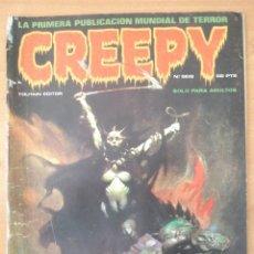 Cómics: CREEPY Nº 6. JESÚS BLASCO, AURALEÓN, LUIS GARCIA, ORTIZ, MARTÍN SALVADOR, FRANK FRAZETTA. TOUTAIN.. Lote 168329740