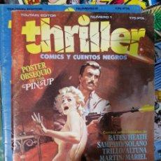 Comics : THRILLER 6 NUMEROS COMPLETA EDITA TOUTAIN. Lote 189974465