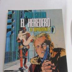 Cómics: LA SUPERVIVIENTE 2: EL HEREDERO / PAUL GILLON /TOUTAIN 1990 BUEN ESTADO. Lote 169066184