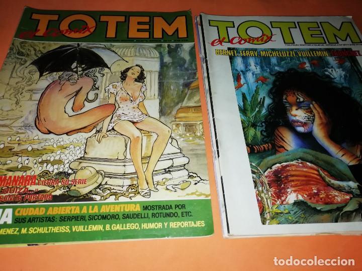 Cómics: TOTEM EL COMIX . LOTE NUMEROS SUELTOS 15,16,17,20,21,37,57 Y 58. TOUTAIN EDITOR. NO VENDO SUELTOS - Foto 5 - 169552940