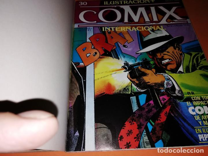 Cómics: COMIX INTERNACIONAL. LOTE DE NUMEROS SUELTOS. DOS RETAPADOS Y ULTIMO NUMERO. - Foto 5 - 169558564
