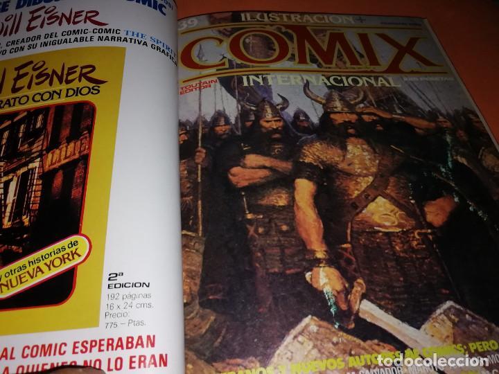 Cómics: COMIX INTERNACIONAL. LOTE DE NUMEROS SUELTOS. DOS RETAPADOS Y ULTIMO NUMERO. - Foto 6 - 169558564