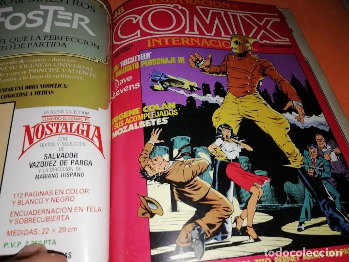 Cómics: COMIX INTERNACIONAL. LOTE NUMEROS SUELTOS. DOS RETAPADOS Y ULTIMO NUMERO. - Foto 7 - 169558564