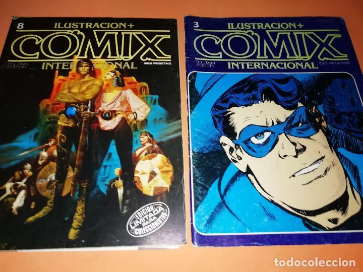 Cómics: COMIX INTERNACIONAL. LOTE DE NUMEROS SUELTOS. DOS RETAPADOS Y ULTIMO NUMERO. - Foto 8 - 169558564