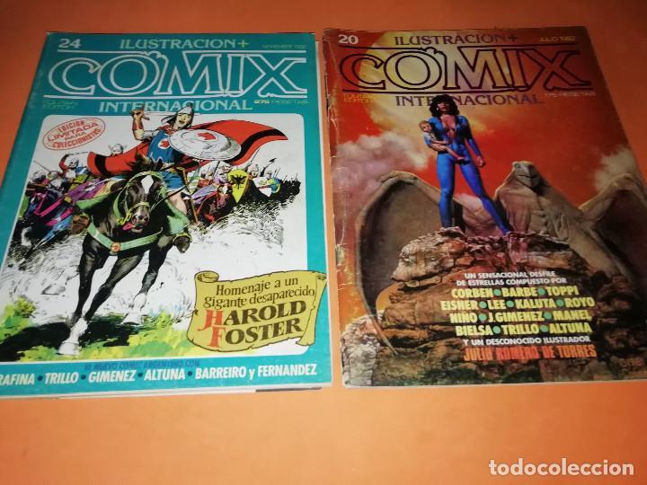 Cómics: COMIX INTERNACIONAL. LOTE DE NUMEROS SUELTOS. DOS RETAPADOS Y ULTIMO NUMERO. - Foto 9 - 169558564