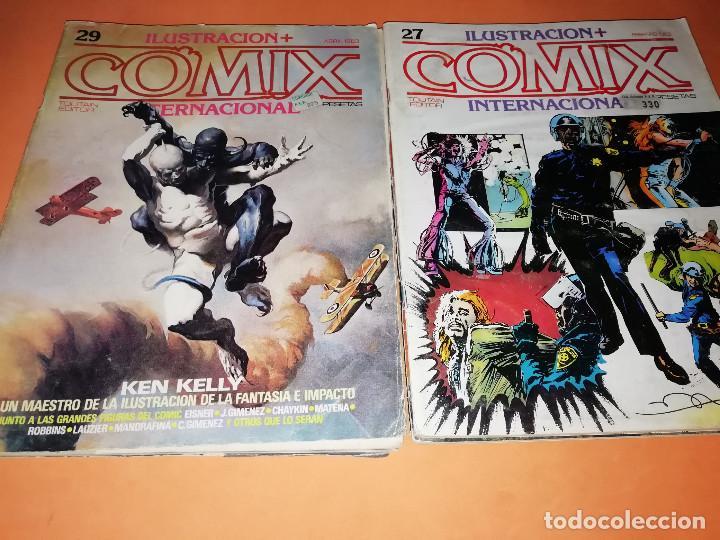 Cómics: COMIX INTERNACIONAL. LOTE DE NUMEROS SUELTOS. DOS RETAPADOS Y ULTIMO NUMERO. - Foto 10 - 169558564