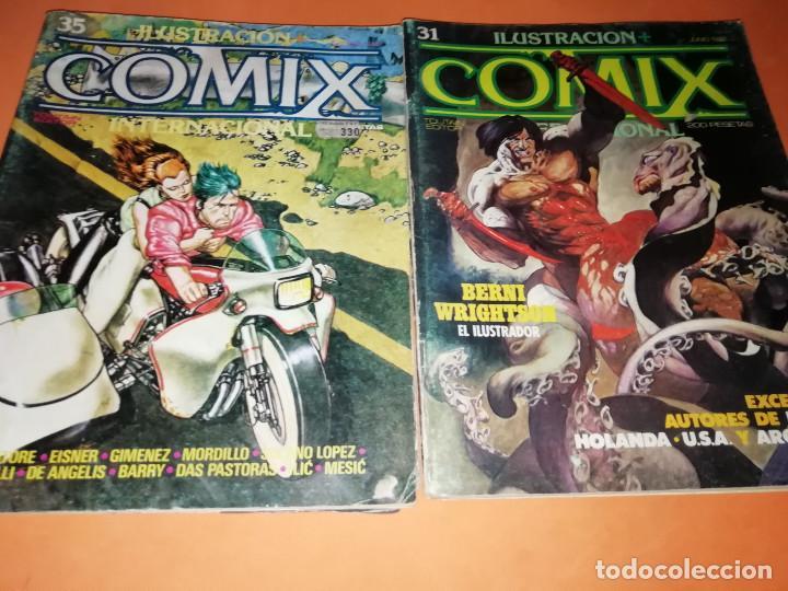 Cómics: COMIX INTERNACIONAL. LOTE NUMEROS SUELTOS. DOS RETAPADOS Y ULTIMO NUMERO. - Foto 11 - 169558564