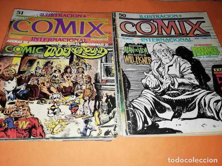 Cómics: COMIX INTERNACIONAL. LOTE DE NUMEROS SUELTOS. DOS RETAPADOS Y ULTIMO NUMERO. - Foto 13 - 169558564