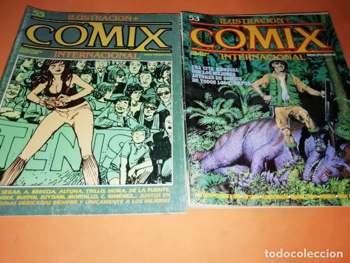 Cómics: COMIX INTERNACIONAL. LOTE DE NUMEROS SUELTOS. DOS RETAPADOS Y ULTIMO NUMERO. - Foto 14 - 169558564