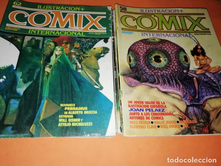 Cómics: COMIX INTERNACIONAL. LOTE DE NUMEROS SUELTOS. DOS RETAPADOS Y ULTIMO NUMERO. - Foto 15 - 169558564