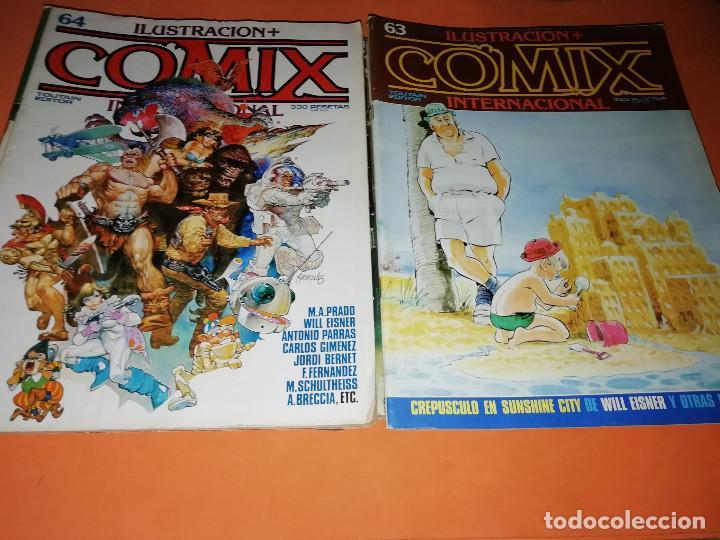 Cómics: COMIX INTERNACIONAL. LOTE DE NUMEROS SUELTOS. DOS RETAPADOS Y ULTIMO NUMERO. - Foto 16 - 169558564