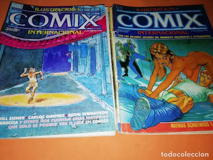 Cómics: COMIX INTERNACIONAL. LOTE DE NUMEROS SUELTOS. DOS RETAPADOS Y ULTIMO NUMERO. - Foto 17 - 169558564
