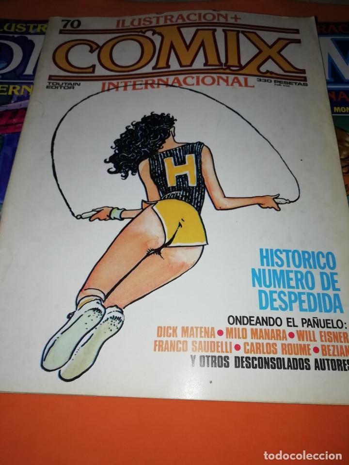 Cómics: COMIX INTERNACIONAL. LOTE DE NUMEROS SUELTOS. DOS RETAPADOS Y ULTIMO NUMERO. - Foto 18 - 169558564