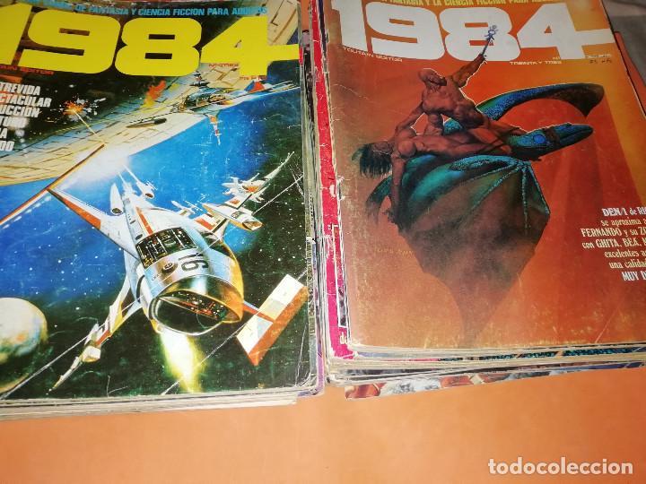 1984. REVISTA LOTE 44 NUMEROS Y UN ESPECIAL CONCURSO. TOUTAIN, NO VENDO SUELTOS (Tebeos y Comics - Toutain - 1984)