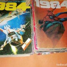 Cómics: 1984. REVISTA LOTE 44 NUMEROS Y UN ESPECIAL CONCURSO. TOUTAIN, NO VENDO SUELTOS. Lote 169651316