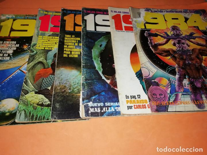 Cómics: 1984. REVISTA LOTE 44 NUMEROS Y UN ESPECIAL CONCURSO. TOUTAIN, NO VENDO SUELTOS - Foto 4 - 169651316