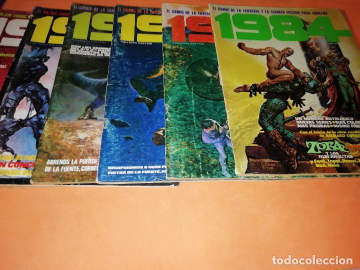 Cómics: 1984. REVISTA LOTE 44 NUMEROS Y UN ESPECIAL CONCURSO. TOUTAIN, NO VENDO SUELTOS - Foto 5 - 169651316