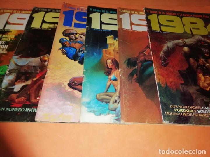 Cómics: 1984. REVISTA LOTE 44 NUMEROS Y UN ESPECIAL CONCURSO. TOUTAIN, NO VENDO SUELTOS - Foto 7 - 169651316