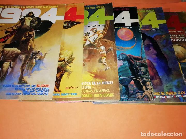 Cómics: 1984. REVISTA LOTE 44 NUMEROS Y UN ESPECIAL CONCURSO. TOUTAIN, NO VENDO SUELTOS - Foto 8 - 169651316