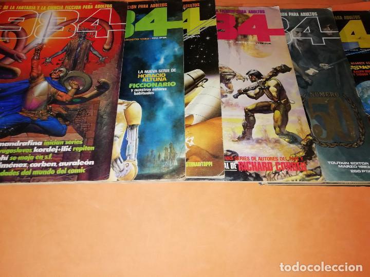 Cómics: 1984. REVISTA LOTE 44 NUMEROS Y UN ESPECIAL CONCURSO. TOUTAIN, NO VENDO SUELTOS - Foto 9 - 169651316