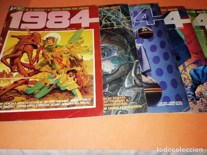 Cómics: 1984. REVISTA LOTE 44 NUMEROS Y UN ESPECIAL CONCURSO. TOUTAIN, NO VENDO SUELTOS - Foto 10 - 169651316