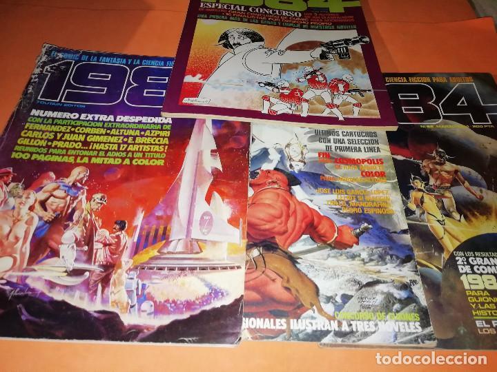 Cómics: 1984. REVISTA LOTE 44 NUMEROS Y UN ESPECIAL CONCURSO. TOUTAIN, NO VENDO SUELTOS - Foto 11 - 169651316