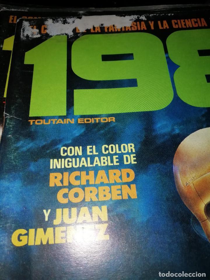 Cómics: 1984. REVISTA LOTE 44 NUMEROS Y UN ESPECIAL CONCURSO. TOUTAIN, NO VENDO SUELTOS - Foto 15 - 169651316