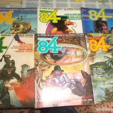 Cómics: ZONA 84 LOTE DE 6 NUMEROS: 8+16+17+18+20+22 . Lote 169698464