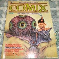 Cómics: COMIX INTERNACIONAL N.º 58 JOAN PELAEZ EISNER.... Lote 169698812
