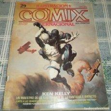 Cómics: COMIX INTERNACIONAL N.º 29 KEN KELLY J GIMENEZ MATENA.... Lote 169698908