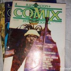 Cómics: COMIX INTERNACIONAL. LOTE 46 NÚMEROS. DESDE NÚMERO 2 A 56. FALTAN ALGUNOS. Lote 169818420