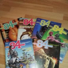 Cómics: LOTE 6 NÚMEROS ZONA 84. Lote 170373816