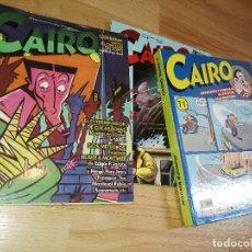 Cómics: TOMO TAPA DURA CAIRO Y NUMEROS SUELTOS. Lote 170374740