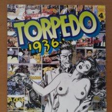 Cómics: TORPEDO 1936 - TOMO 4 - SÁNCHEZ ABULI, JORDI BENET - TOUTAIN 1986 1ª EDICIÓN SALARIO DEL MIEDO. Lote 170488104